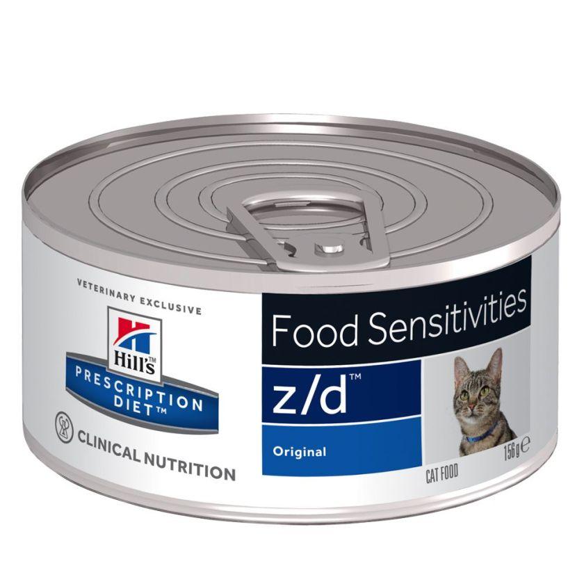 24x156g z/d Food Sensitivities Original pour chat Hill's Prescription Diet