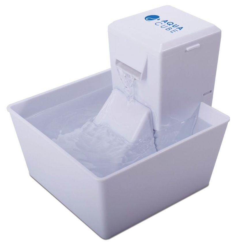 Fontaine à eau Aqua Cube Aqua Fountain PetSafe - lot complet : fontaine et 4 filtres de rechange