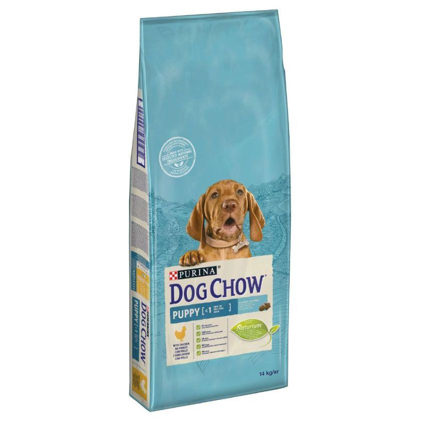 14kg Puppy poulet Dog Chow - Croquettes pour Chien