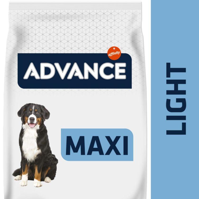 2x14kg Maxi Light Advance Croquettes pour chien