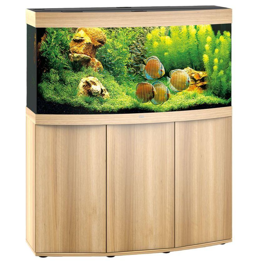 Juwel Vision 260 blanc Ensemble aquarium/sous-meuble - Aquarium + meuble