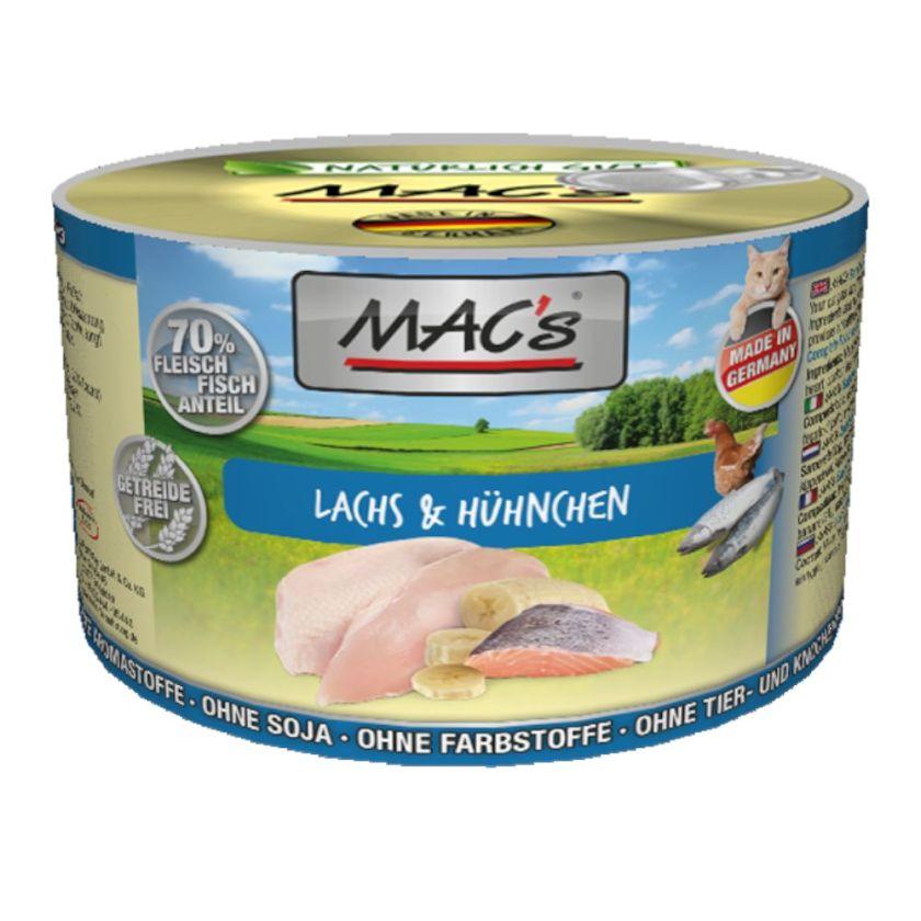 6x200g veau / dinde MAC's - Nourriture pour Chat