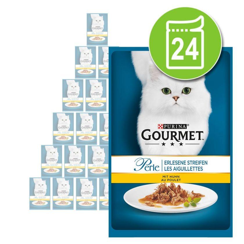 24x85g Les aiguillettes de thon Gourmet - Nourriture pour Chat