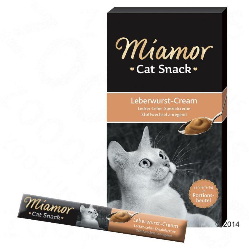 Miamor Cat Confect Crème au pâté de foie pour chat - 24 x 15 g