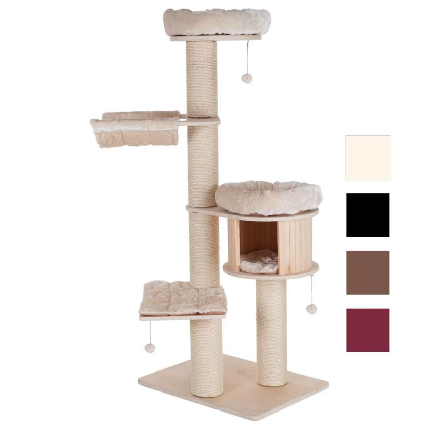 Arbre à chat marron foncé Natural Paradise XL Edition Premium