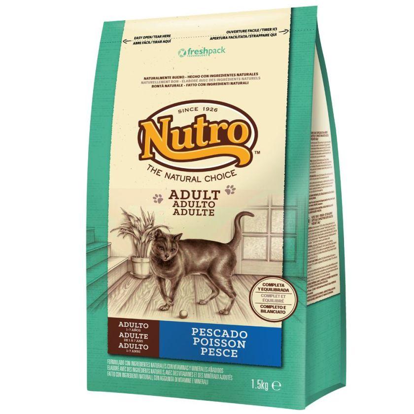 2x4kg Adult poisson Nutro Natural Choice - Croquettes pour Chat