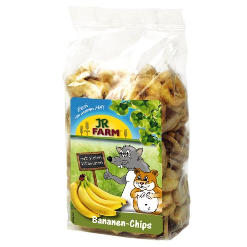 JR Farm Chips de banane pour lapin et rongeur - 150 g
