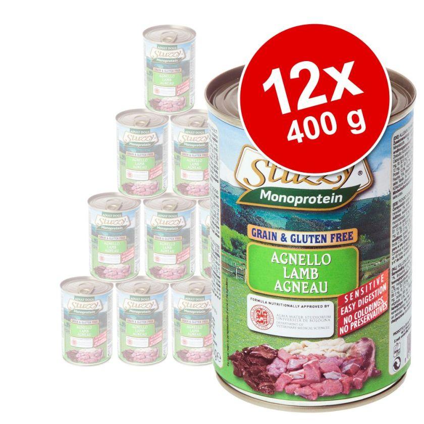Stuzzy Dog Monoprotein 12 x 400 g pour chien - agneau