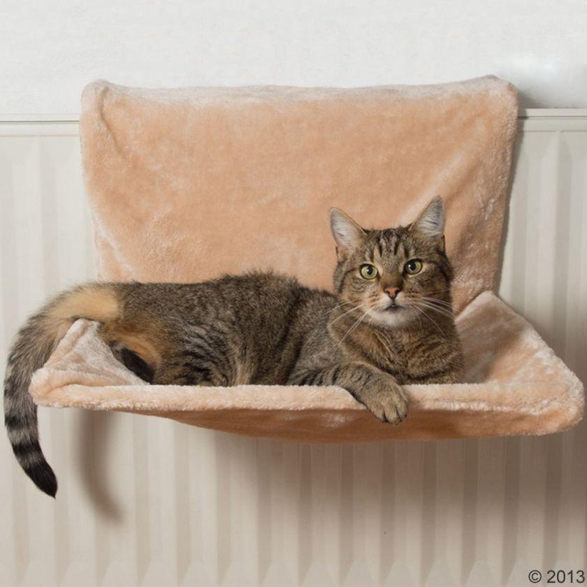 Hamac de radiateur pour chat Yumi beige - Hamac pour chat