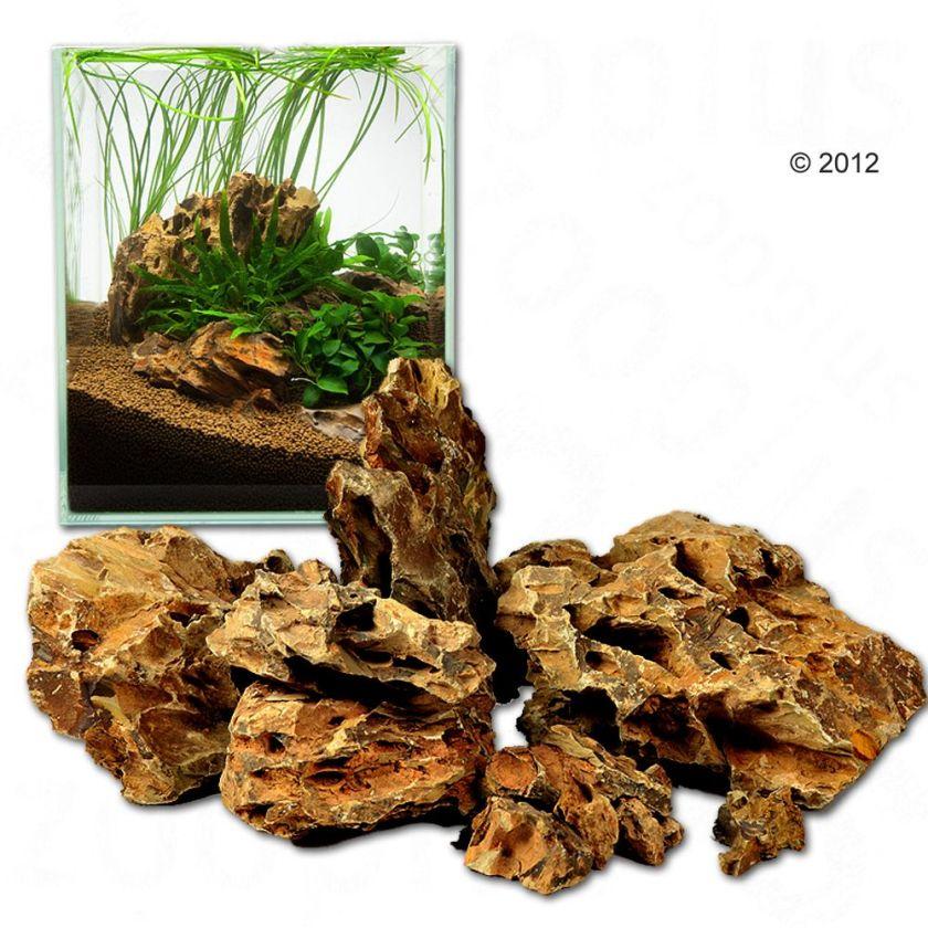 Pierres dragon pour aquarium Ohko Rock - kit 60 cm : 9 pierres naturelles, 5 kg environ
