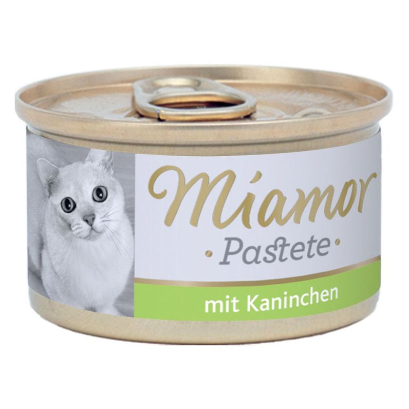 12x85g lapin Miamor - Nourriture pour Chat