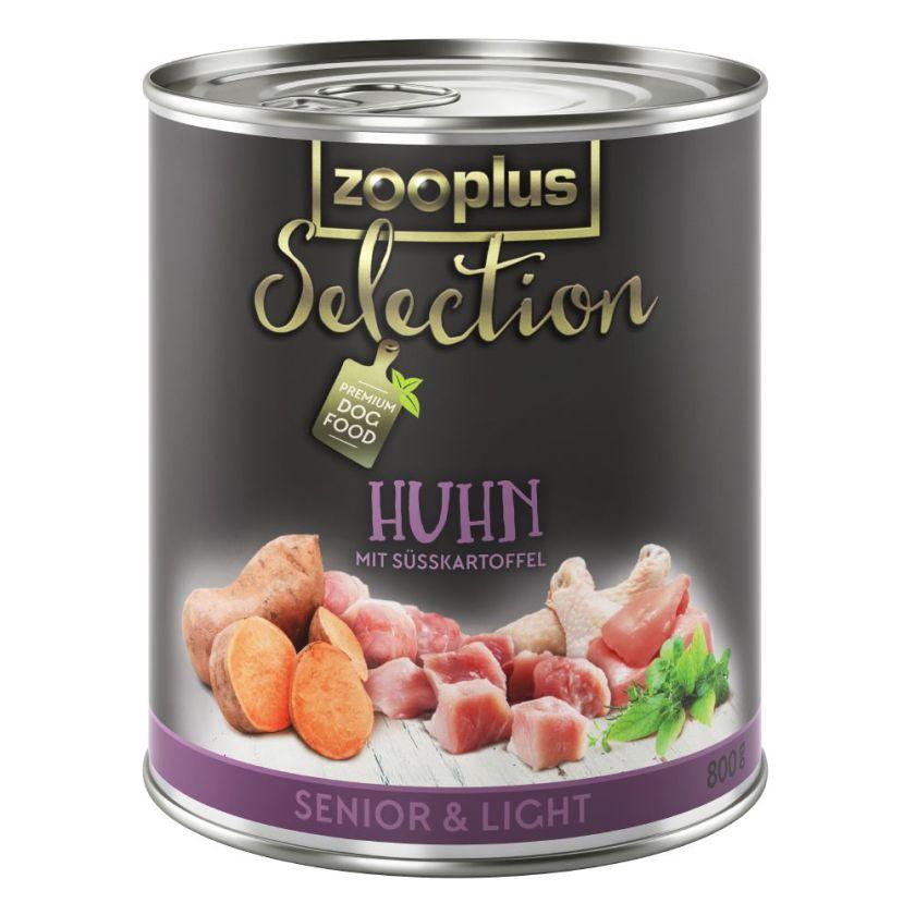 zooplus Selection Senior & Light poulet pour chien - 24 x 800 g
