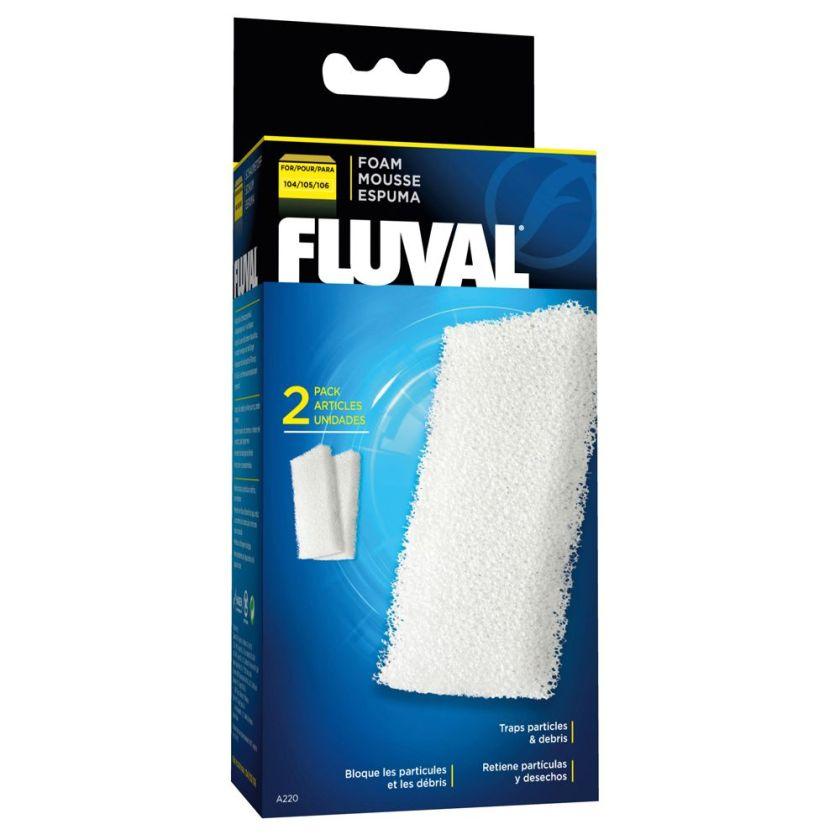 Cartouches en mousse Fluval - pour modèles 204 / 205 / 304 / 305 (3 x 2 cartouches)