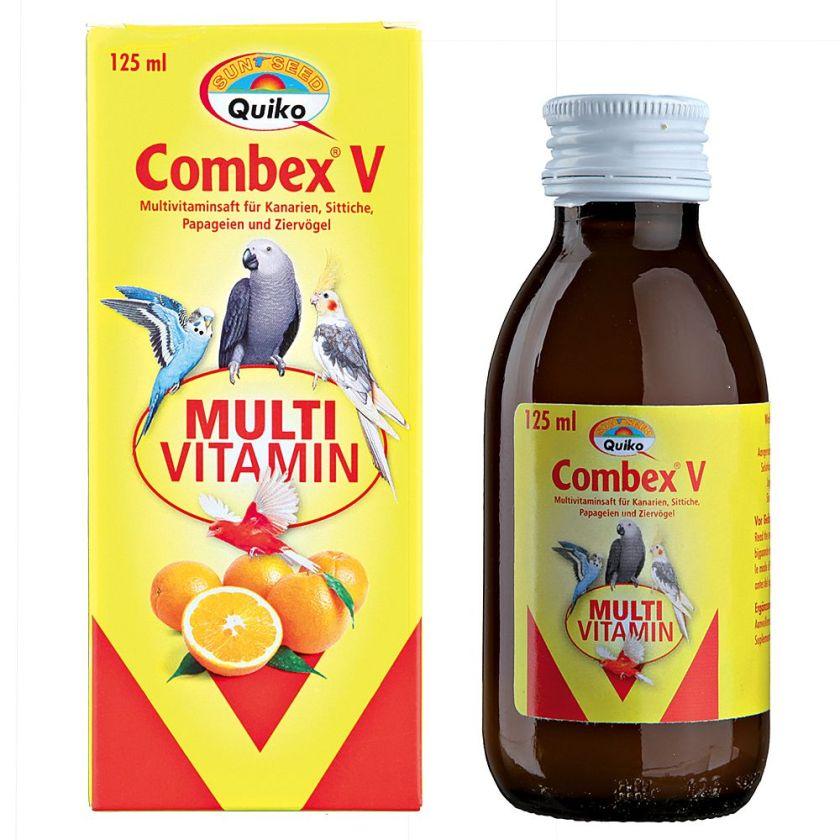 Combex V Complément alimentaire pour oiseaux - 125 mL