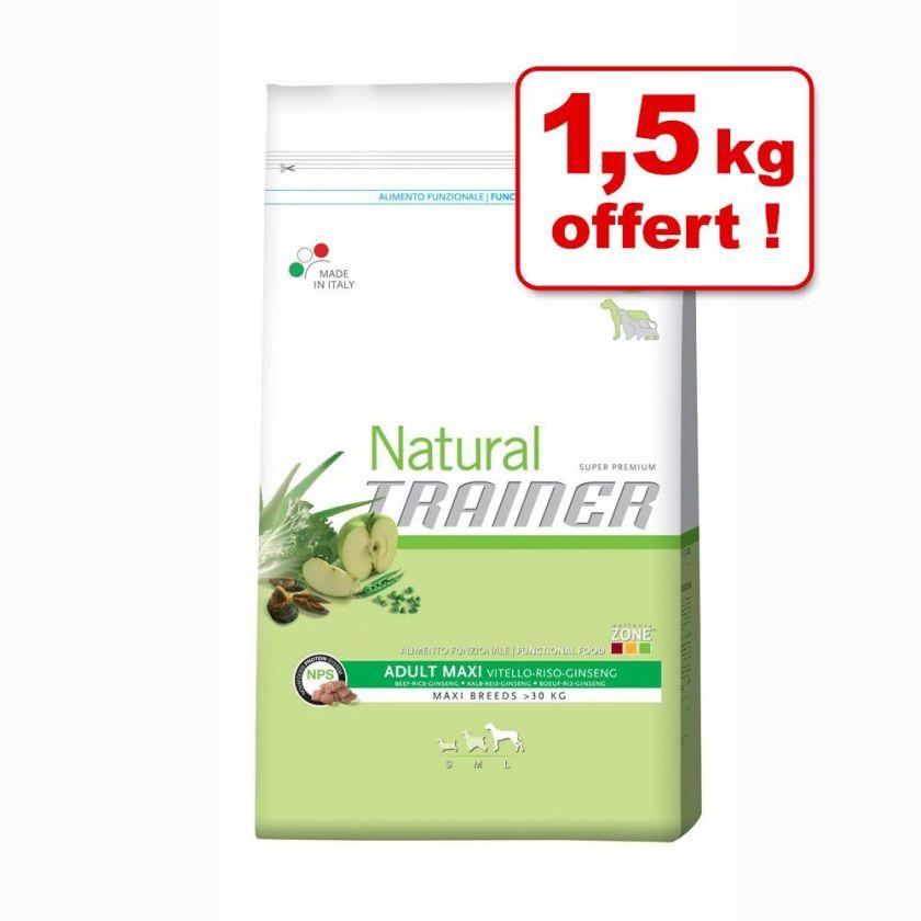 Croquettes Trainer Natural 11 kg + 1,5 kg offerts ! - Natural Senior Maxi