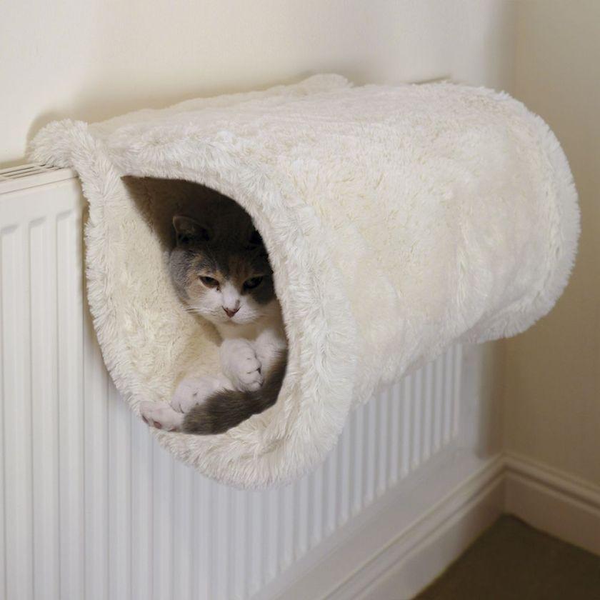 animalerie hamac de radiateur 2 en 1 pour chat rosewood cr me animalerie discount en ligne. Black Bedroom Furniture Sets. Home Design Ideas