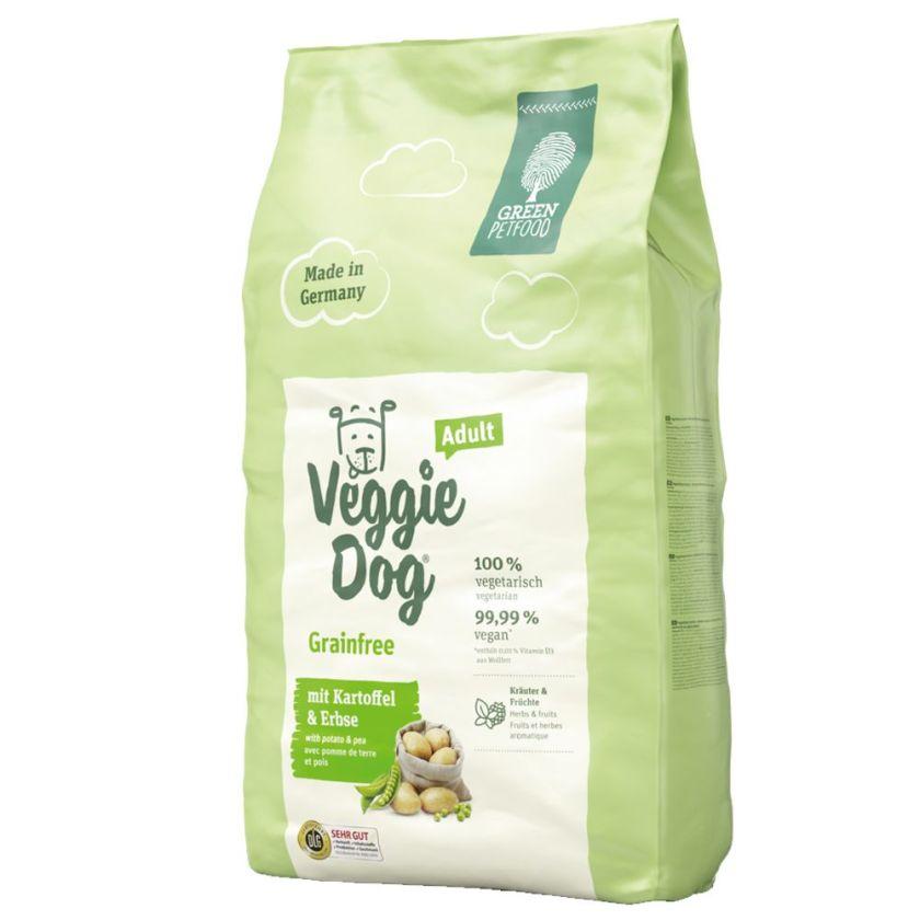 Green Petfood VeggieDog grainfree pour chien - 2 x 10 kg