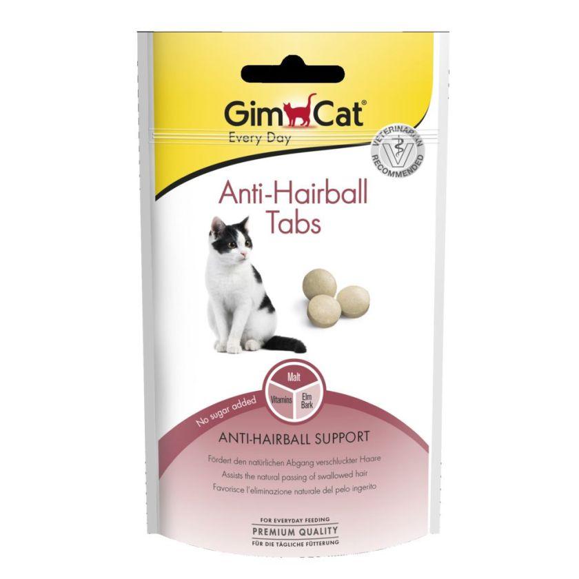 3x40g Malt Kiss GimCat - Compléments alimentaires pour Chat