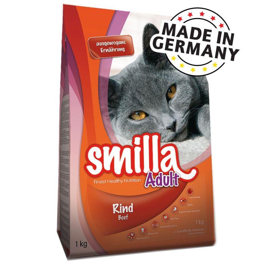 1kg Adult bœuf Smilla - Croquettes pour Chat