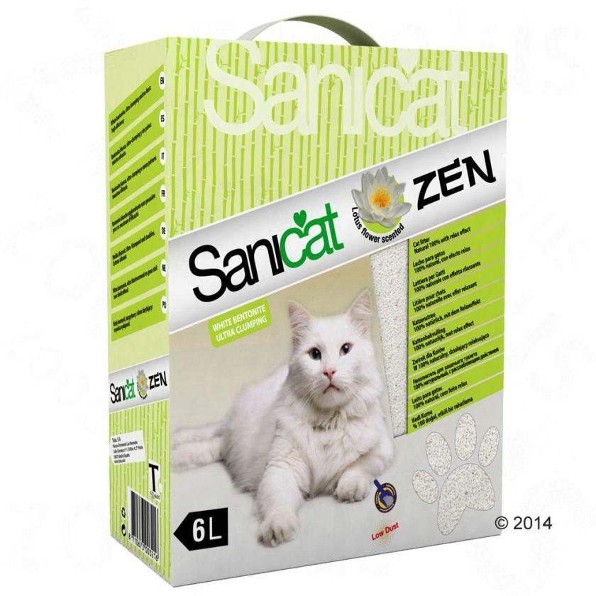 6L Zen Sanicat - Litière pour Chat