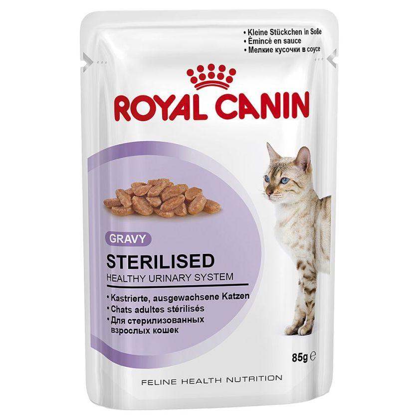Royal Canin Sterilised en sauce pour chat - 48 x 85 g