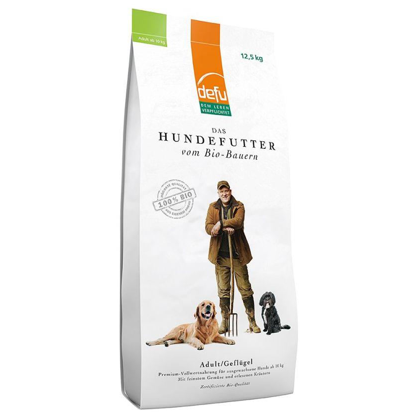 12,5kg Adult Defu Bio Croquettes pour chien