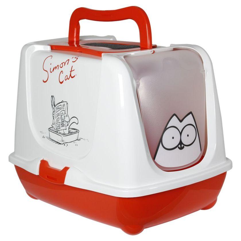 9 filtres à charbon actif Universal Maison de toilette Simon's Cat pour chat