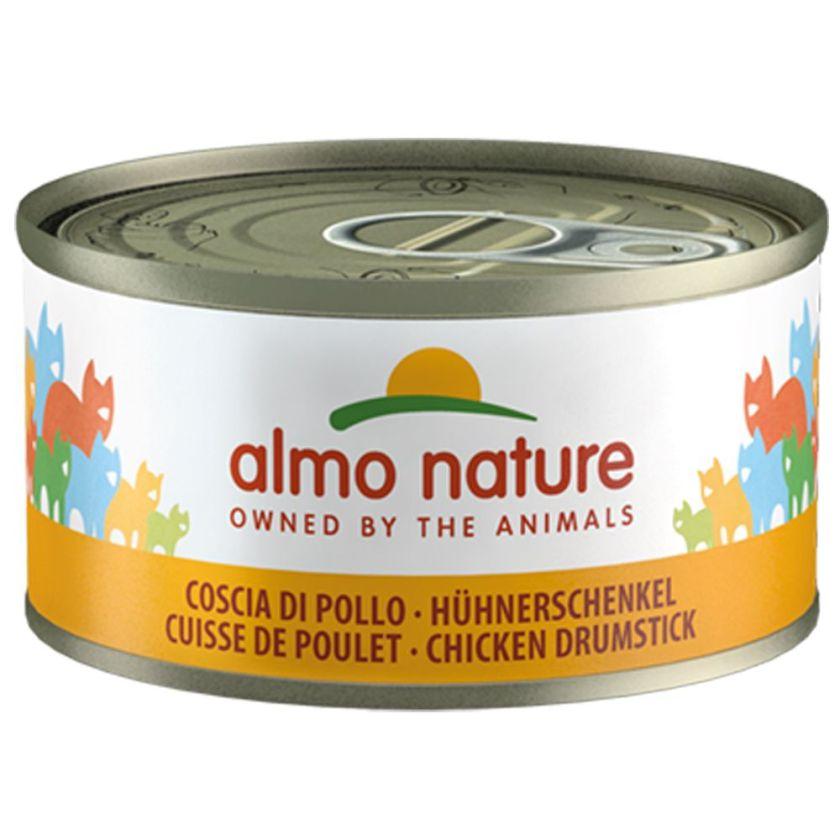 6x70g thon / alevins de sardines Almo Nature Legend - Nourriture pour Chat