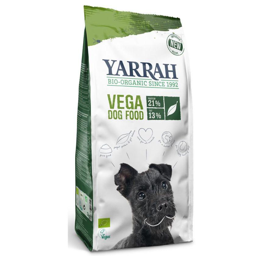 2x10kg Vega baobab huile de noix de coco Yarrah Bio - Croquettes pour Chien