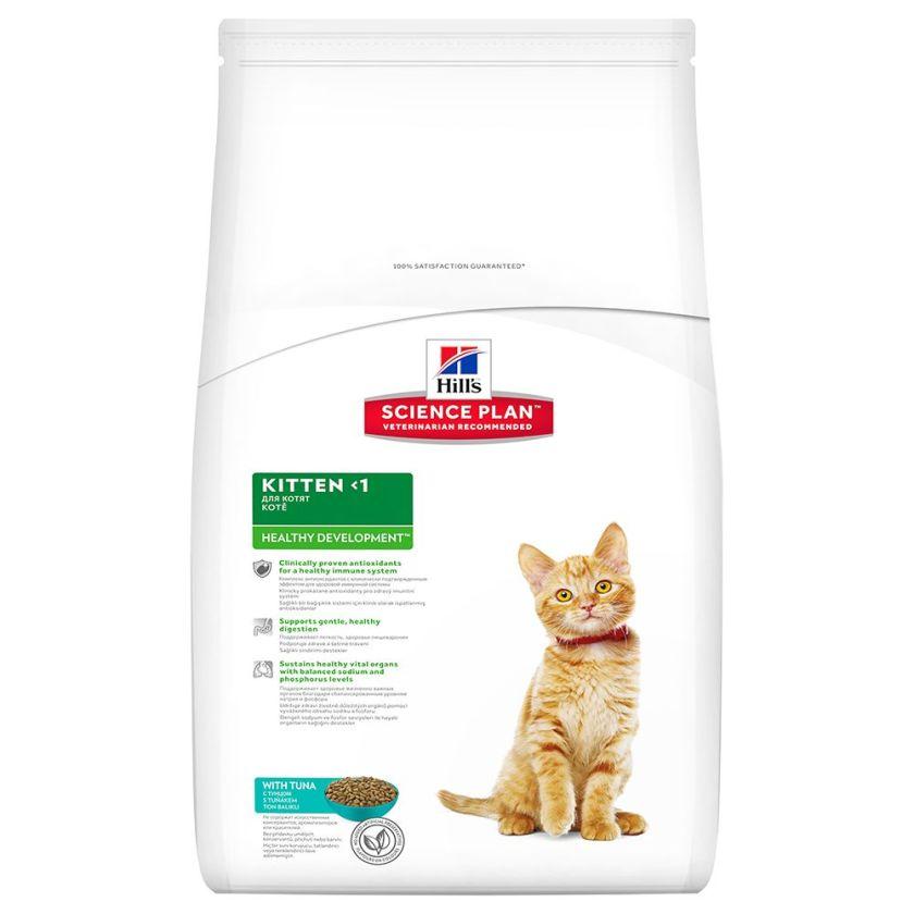3x2kg Kitten Healthy Development thon Hill's Science Plan - Croquettes pour Chat