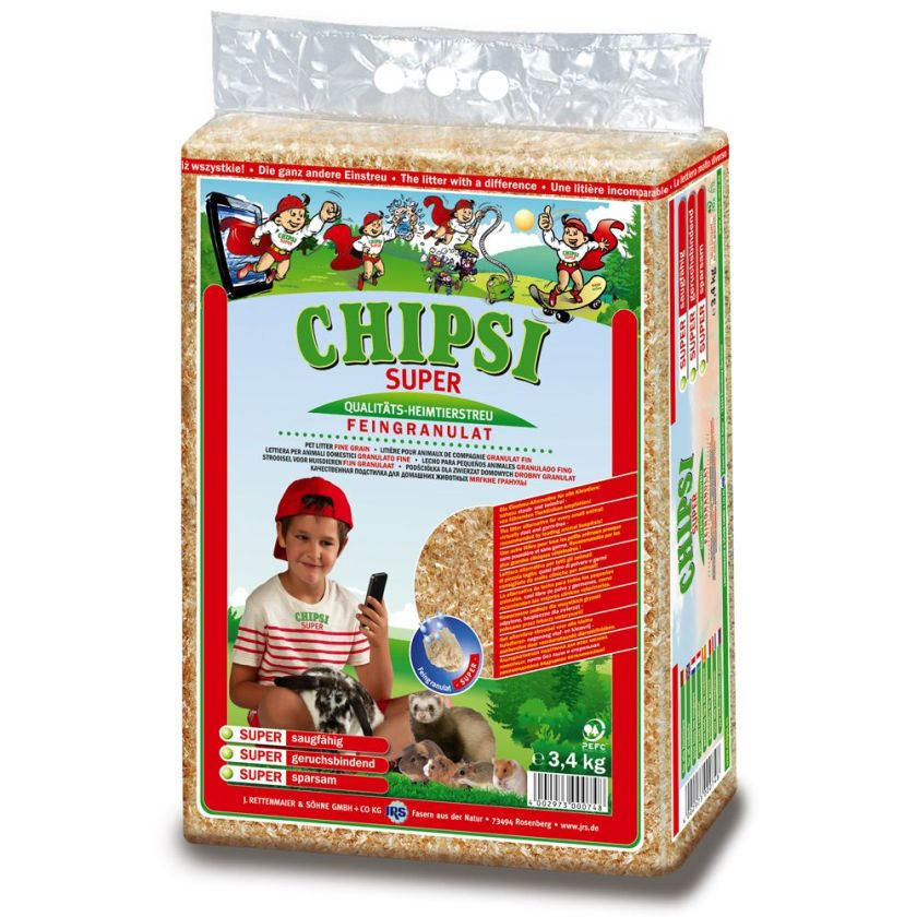 Litière Chipsi Super pour rongeur - 24 kg