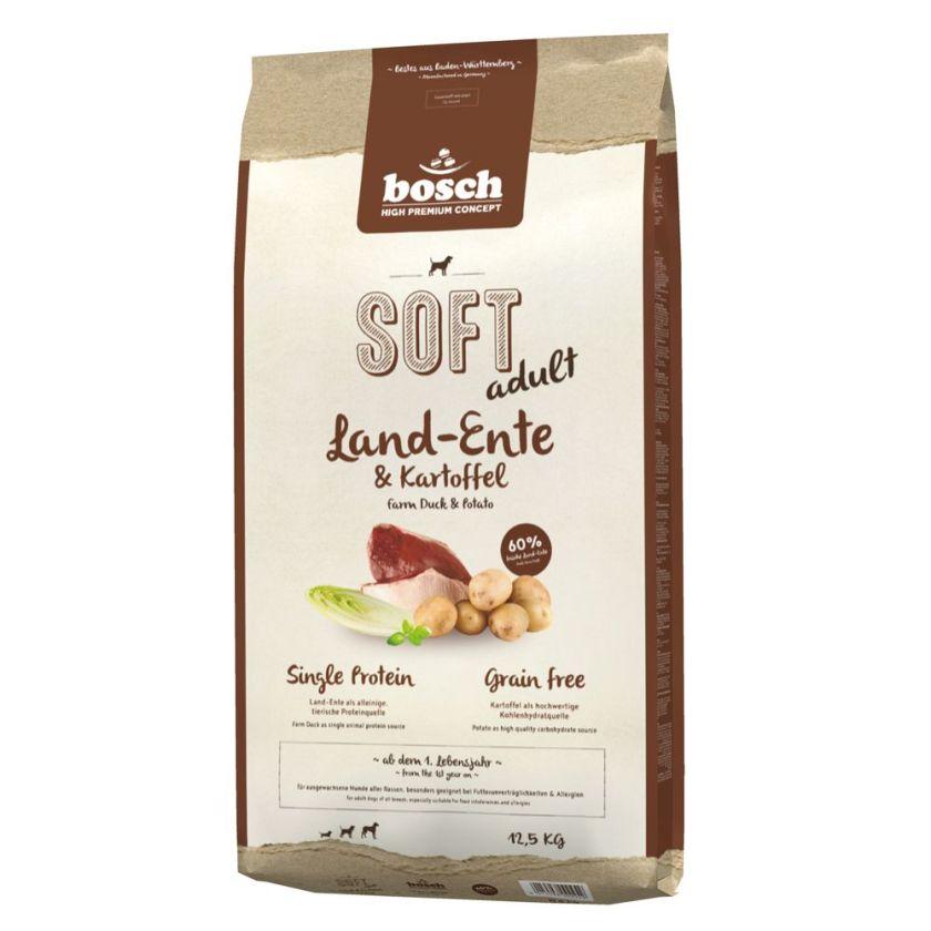 2x12,5kg Soft Adult canard pommes de terre bosch® HPC - Croquettes molles pour Chien