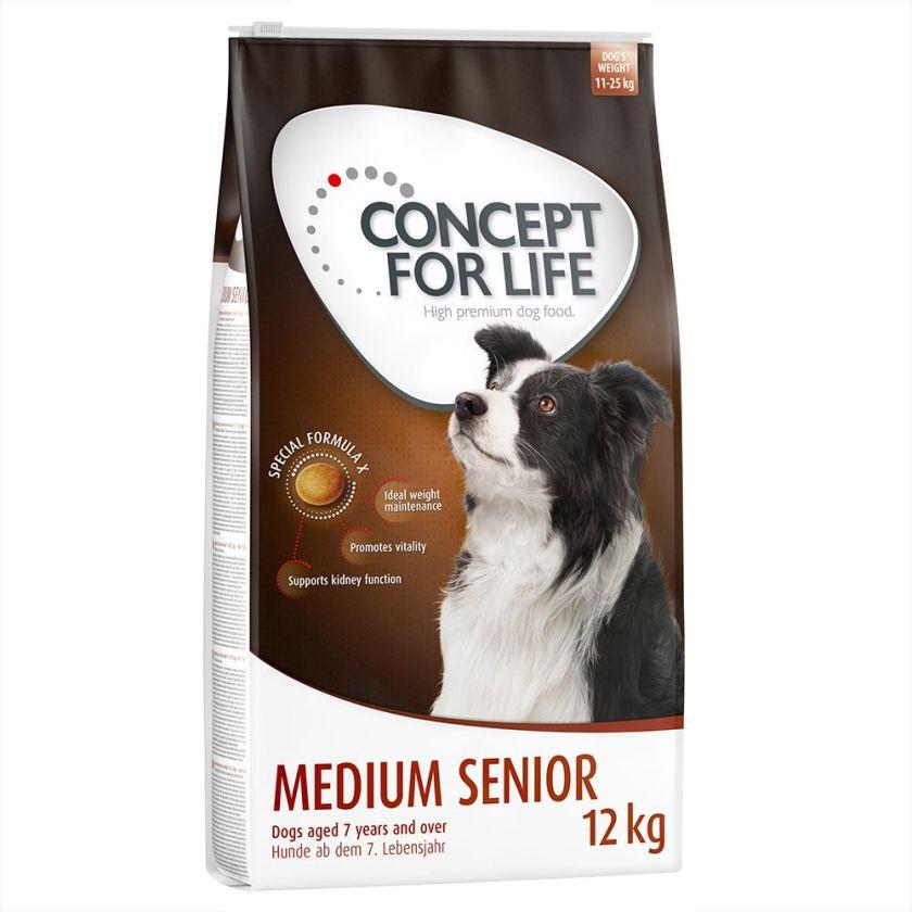 Concept for Life Medium Senior pour chien - 6 kg