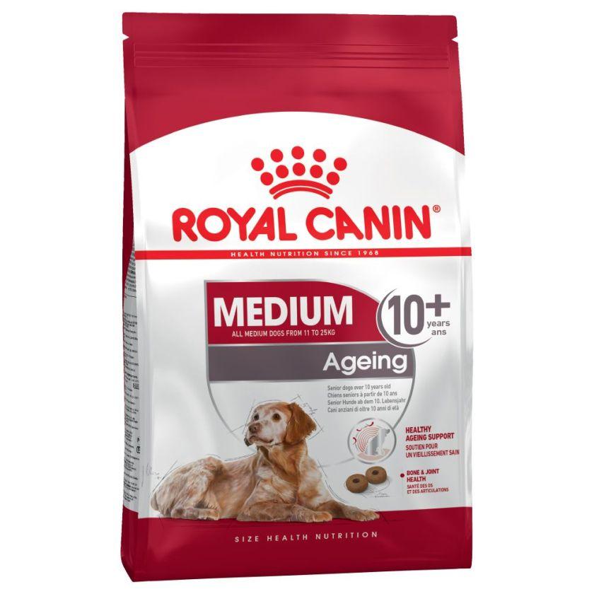2x15kg Medium Ageing 10+ Royal Canin Croquettes Chien