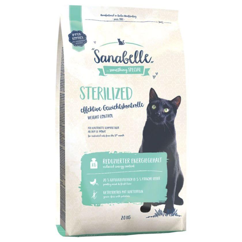 10kg Sterilized Sanabelle pour chat