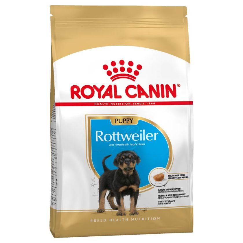 12kg Rottweiler Puppy Chiot Royal Canin - Croquettes pour chien
