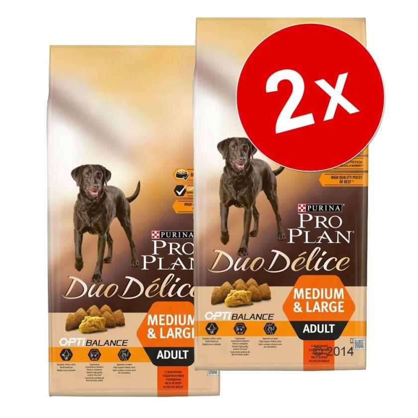 2x10kg Duo Délice poulet Pro Plan