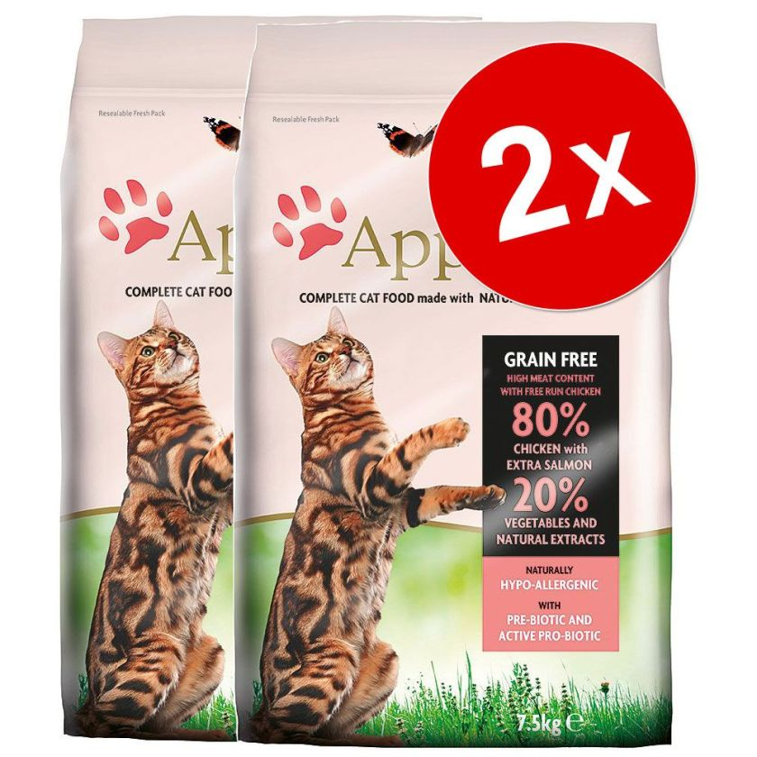 2x7,5kg Applaws Kitten Croquettes pour chaton