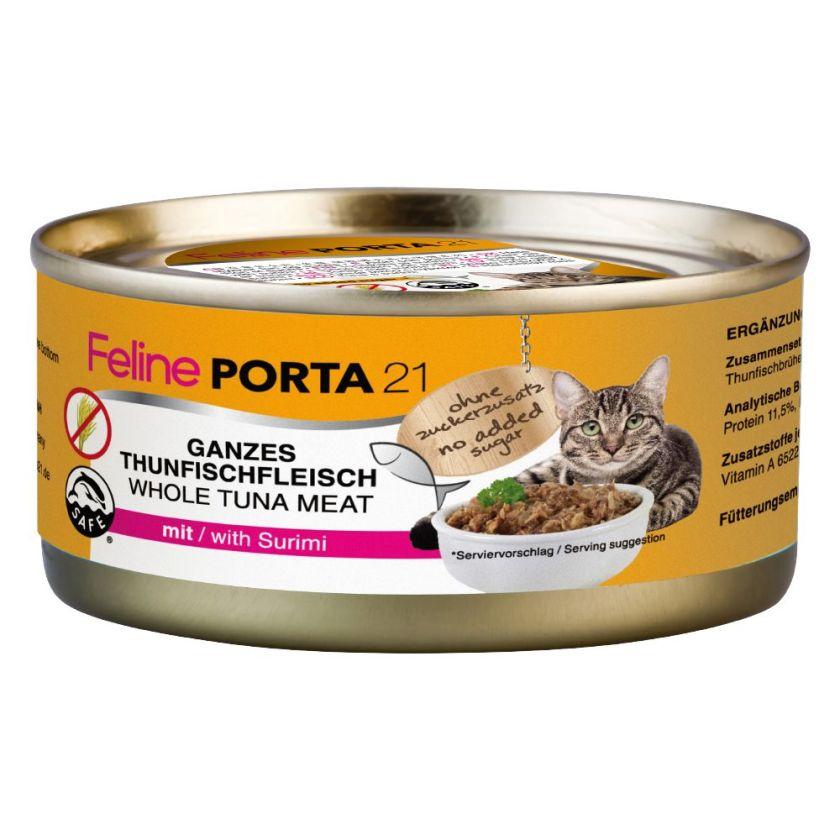 6x156g poulet pur Porta 21 - Nourriture pour Chat