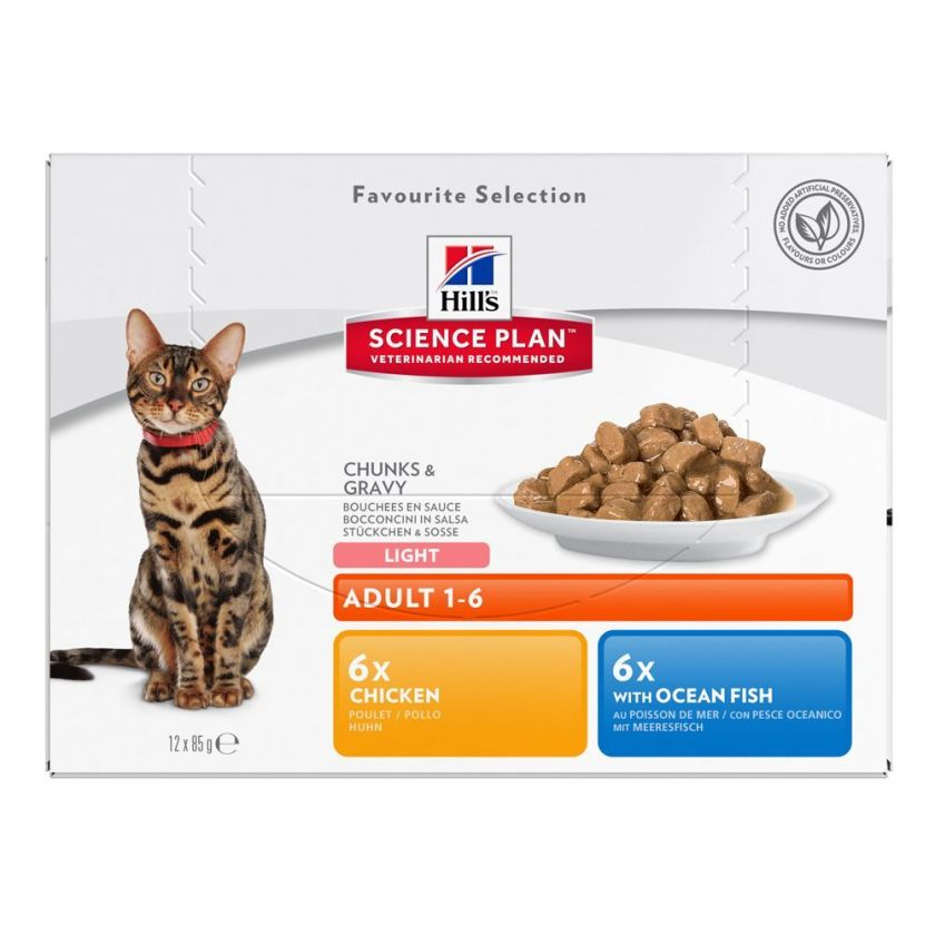 12x85g Adult dinde Hill's Science Plan pour chat