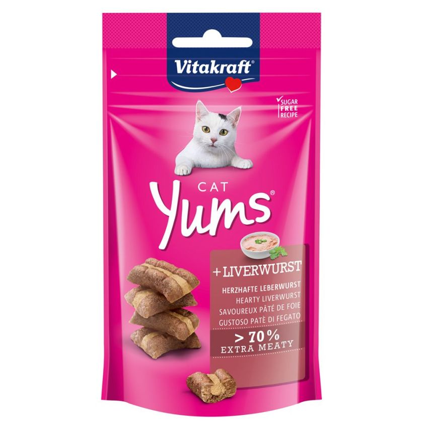 Vitakraft Cat Yums pour chat - fromage (40 g)