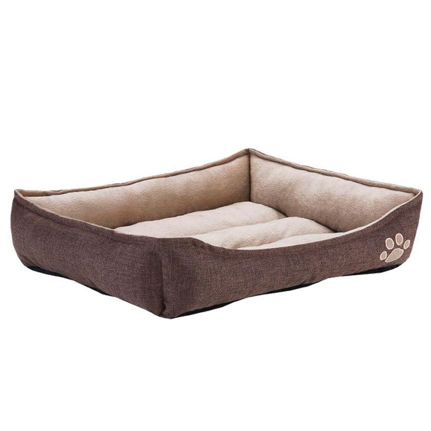 Panier Chien rectangulaire Basic Chien / Chat L55 l50 H12cm - Panier pour Chien