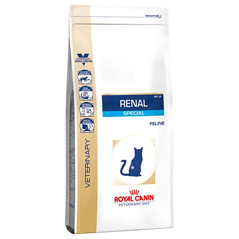2kg Renal Special RSF26 Royal Canin Veterinary Diet Croquettes pour chat