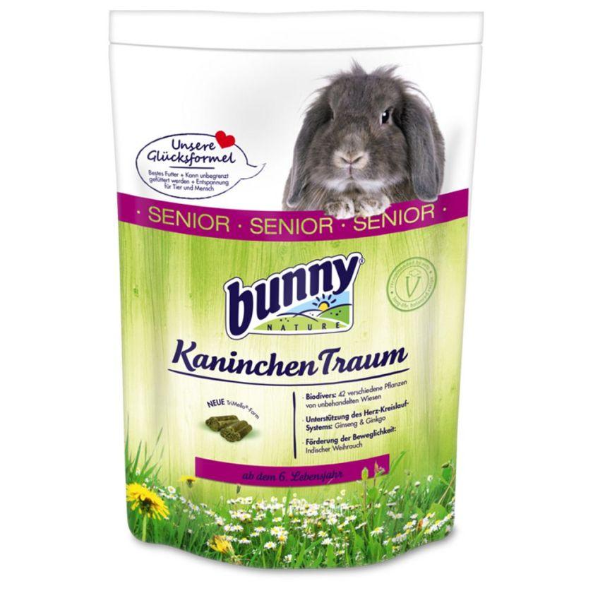 Bunny Rêve SENIOR pour lapin nain - 2 x 4 kg