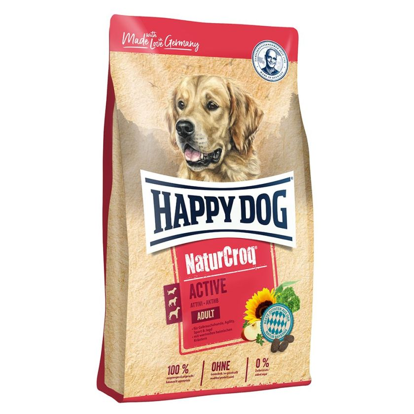 Happy Dog NaturCroq Active pour chien - 15 kg