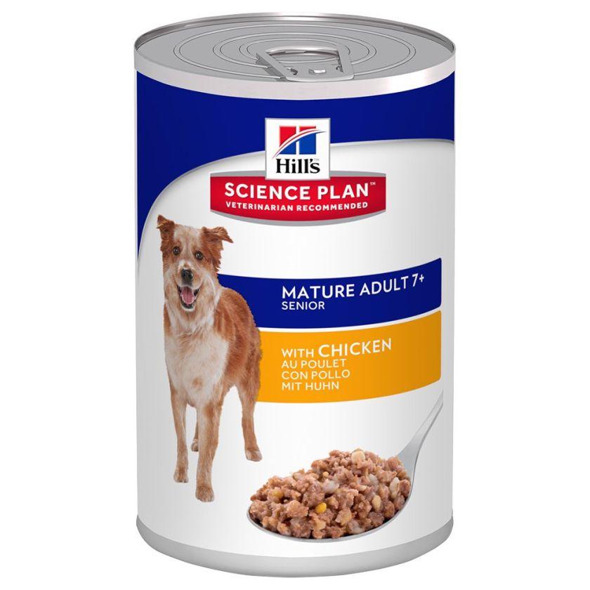 Hill´s Science Plan Canine Senior - maxi lot % : 24 x 370 g