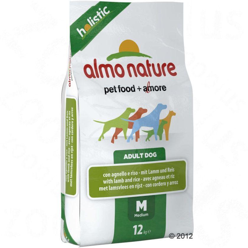 Almo Nature Adult Medium agneau, riz pour chien - 2 x 12 kg