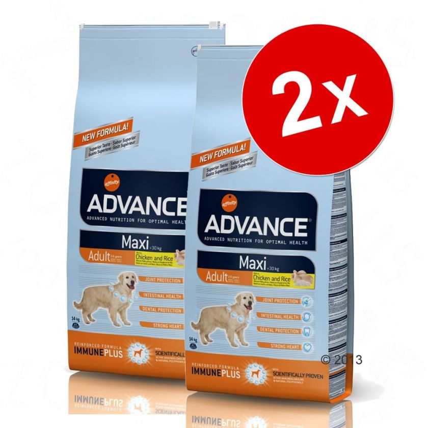Lot Affinity Advance Maxi pour chien - Maxi Senior (2 x 15 kg)