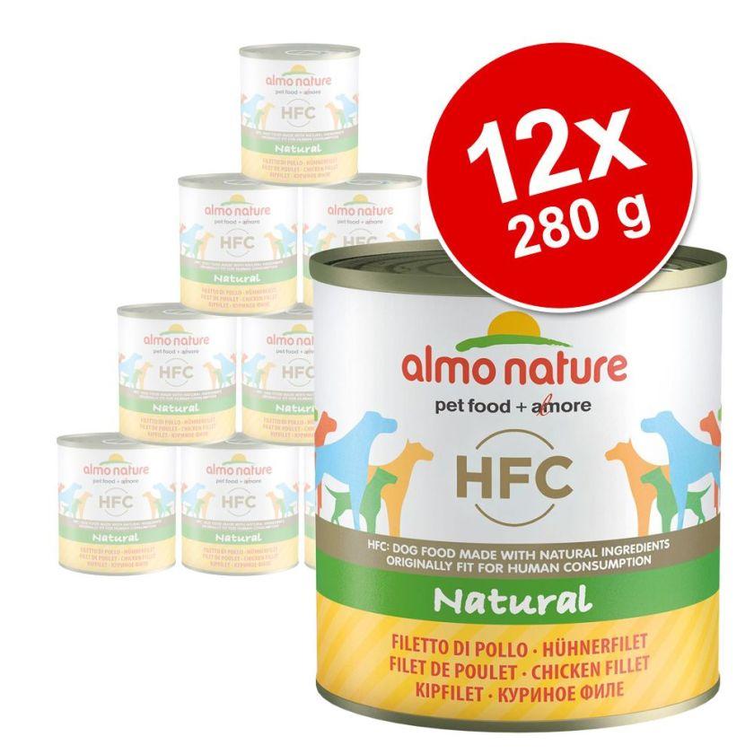 12x280 g filet de poulet Almo Nature Classic Nourriture pour chien