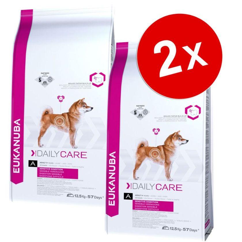 Eukanuba Daily Care Surpoids - Croquettes chien - 2 x 12,5 kg